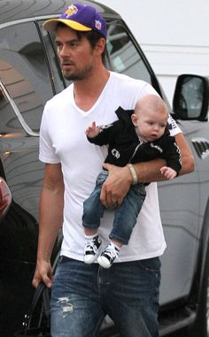 Josh Duhamel, (Fergie's man and son) Axl!