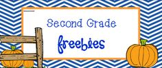 Second Grade Freebies