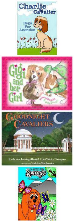 6 Cavalier King Charles Spaniel Children's Books