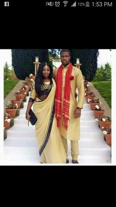 African themed wedding idea