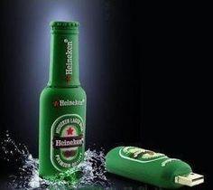 4GB Heineken Style Beer Bottle USB Flash Drive Panda