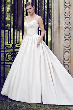 Paloma Blanca 2015 Bridal Collection #weddingdresses #wedding #dresses #gown #bridal #love