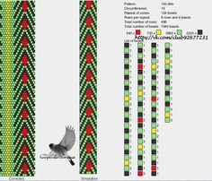 15 around tubular bead crochet rope pattern. See photo Bead Crochet Patterns, Bead Crochet Rope, Seed Bead Patterns, Peyote Patterns, Crochet Chart, Loom Patterns, Beading Patterns, Jewelry Patterns, Bracelet Patterns