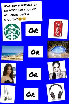 First to get all right gets a shoutout!! But don't answer for Demi and Selena cuz I don't like either of em