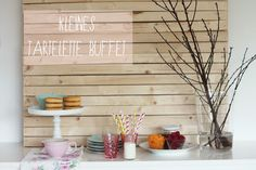 Tartelette Buffet