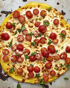 Recipe: Polenta Crust Pizza — Quick and Easy Vegetarian Dinners