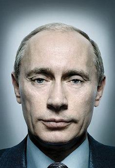 Putin by Platon. Saw Platon at the Semi-Permanent design conference in Melbourne 2011. Awesome speaker. Love this shot - can't stand Putin - Megalomaniac.