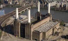 Derelict Buildings, Unusual Buildings, London Photos, London Art, Battersea Power Station, Art Deco Stil, London Property, London Architecture, London Landmarks