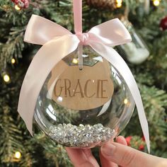 Personalised Pet Cat Christmas Bauble By Dreams To Reality Design Ltd | notonthehighstreet.com