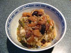 Chinese Sticky Rice (No6 Mai5 Faan6, 糯米飯)