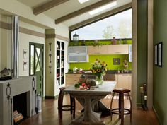 15 Easy Ways to Add Color to Your Kitchen | Kitchen Ideas & Design with Cabinets, Islands, Backsplashes | HGTV