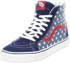 b5e18db12b Vans Sk8 Hi Reissue schoenen blauw rood Vans Sk8 Hi Reissue