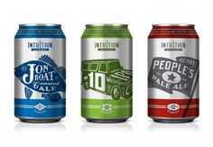 Intuition Ale Works  Designed by DeRouen & Co. | Country: United States