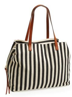 Great bag.  Has 3 separate compartments and is lightweight.  A thoughtful place favorite!
