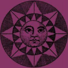 Purple sun!