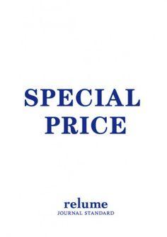 店舗限定SPECIAL PRICE DOWN開催6/10金