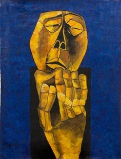 Untitled By Oswaldo Guayasamín