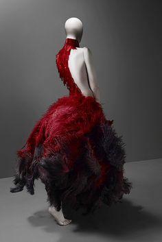 "Dress, ""VOSS"" Spring 2001  ""Alexander-McQueen: Savage Beauty"" at the Met by Winter Phoenix, via Flickr"