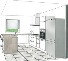 Is this kitchen project feasible? Kitchen Design Small, Kitchen Plans, Kitchen Decor, Diy Kitchen Renovation, Open Plan Kitchen, Kitchen Layout, Modern Kitchen Design, Kitchen Renovation, Kitchen Design