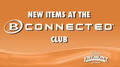 We have some great new items at the B Connected Club, like jewelry, blouses, sweaters and more. Make sure to stop by and see what you can purchase with your points!