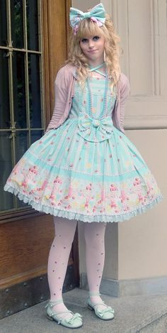 Lolita in Fruits Parlor by Angelic Pretty