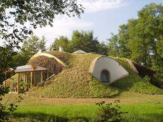 Underground GreenHouse Design into the hillside