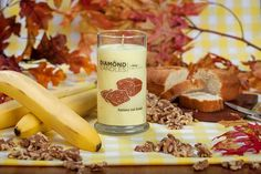 I bet you could almost eat this, sounds like it smells delicious! Banana Nut Bread Ring Candle by diamondcandles
