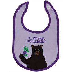 Bear I'll Be Your Hucklebeary Jersey Bib