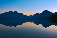 Before Sunrise, Lake McDonald, Glacier National Park.