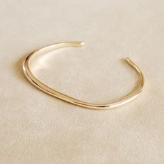 irregular shape golden bangle Helena Rohner SS14 #helenarohner