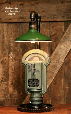 Parking meter lamp, Duncan miller machine age   lamp company, shawn carling