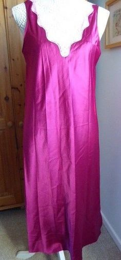 Ladies Marks and Spencer Orchid Nightie Size 14 Midi  fashion  clothing   shoes   2485f460f