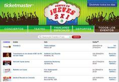 Jueves 2×1 Ticketmaster: Gipsy Kings, Banda el Recodo y Más Jueves 2×1 Ticketmaster:En Ticketmaster en su jueves de 2X1#Jueves2x1, el día de hoy puedes encontrar boletos para los siguientes eventos: Monterrey, NL:NASCAR Toyota Series,Gipsy Kings,Transmisión en vivo desde el MET de NY, Así s... -> http://www.cuponofertas.com.mx/oferta/jueves-2x1-ticketmaster-gipsy-kings-banda-el-recodo-y-mas/