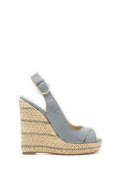 16e3637c14ac Marco Santi by Sole Society Brookes Peep Toe Wedge with Chain Link Trim  Peep Toe Wedges