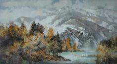 Осень в горах-110х200.2014.