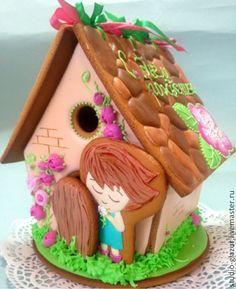 Кукольный пряничный домик #food #gingerbread #gingerbreadhouse #birthday
