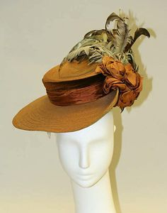 Hat 1905, American, Made of straw