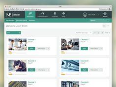 Learning Management System - Dashboard by Bota Iusti