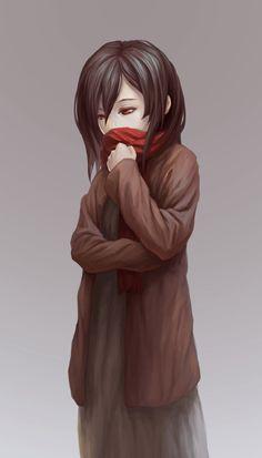 Shingeki No Kyojin | young Mikasa Ackerman Attack on Titan #anime