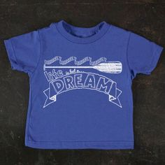 Life Is But a Dream Graphic Toddler Tee by TrulySanctuary, Great Baby Shower Gift, First Birthday Gift Or Party Favor