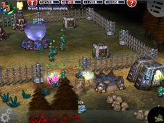 Marine Siege RTS - Collecting resources - old school. iPad version.