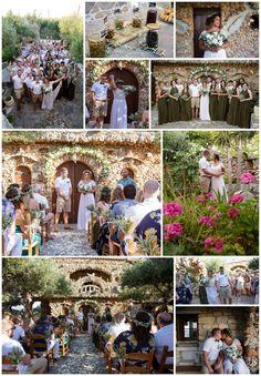 Rustic stone venue in Chania, Crete. Perfect alternative to Agreco Rustic Stone, Crete, Real Weddings, Wedding Stuff, Wedding Planner, Dolores Park, Alternative, Travel, Image