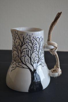 Special ceramic pieces for people who enjoy authenticity and appreciate unique art pieces. All handmade on Lesvos island. Unique Art, Art Pieces, Ceramics, Mugs, Tableware, Handmade, Ceramica, Pottery, Dinnerware