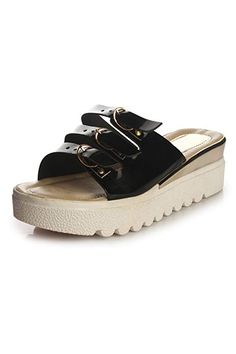 Do Bhai Stylish Wedges 3030 for Women Black) Cheap Sandals, Fashion Sandals, Baby Shoes, Wedges, Stylish, Clothes, Black, Women, Outfits
