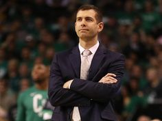 Brad Stevens began as a volunteer for Butler, rose up the ranks to head coach, and has transformed into one of the best coaches in the NBA. His work with the Boston Celtics has put his name in some impressive company in the NBA. Basketball Games Online, Basketball Rules, Basketball Floor, Basketball Shooting, Buy Basketball, College Basketball, Baseball Jerseys, Nba Coaches, Gonzaga Basketball