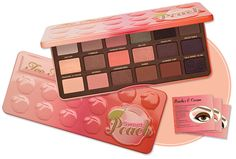 Too Faced Sweet Peach Eye Shadow Collection Palette 18 Colors Eyeshadow Makeup #TooFaced