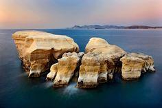 """No man's island"" by Hercules Milas Beautiful World, Beautiful Places, Sarakiniko Beach, Future Travel, Greece Travel, Greek Islands, Hercules, Travel Mug, Slow Shutter"