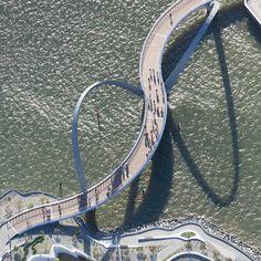 Arup completes meandering bridge across Perth's Swan River