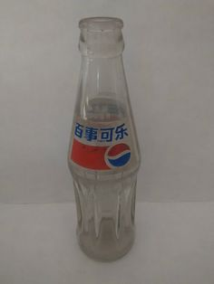 One Old Pepsi Bottle from China | eBay