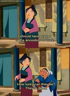 Grandma Fa knows whats up